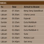 LabuanIslandBruneiFerrySchedule