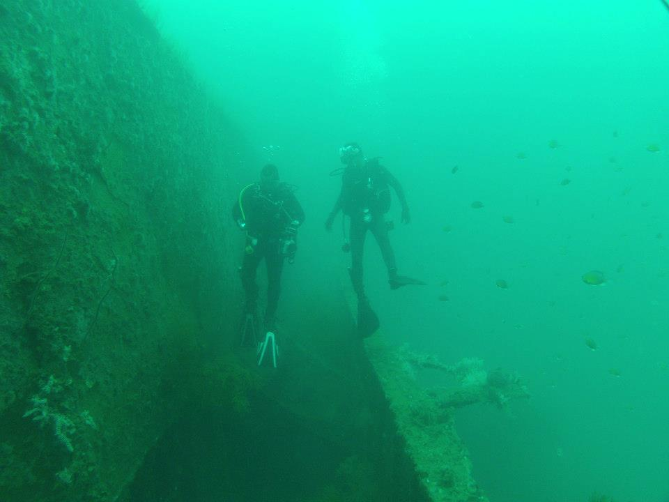 Blue Water Wreck