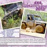 4X4 Labuan Challenge - April 2013